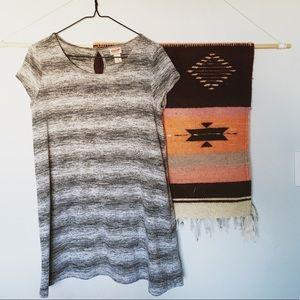 ✨ BOGO SALE Mossimo Tunic Dress Heather Gray